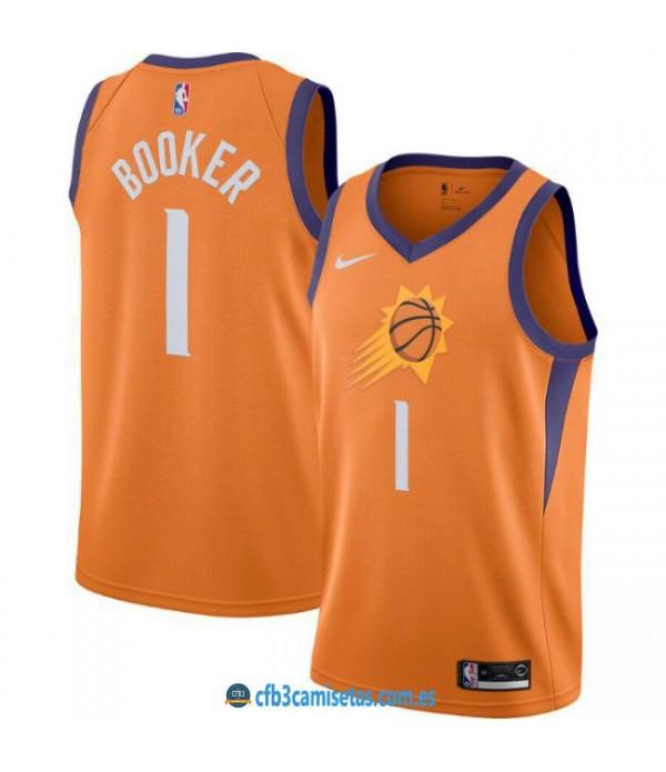 CFB3-Camisetas Devin Booker Phoenix Suns 2019 2020 Statement