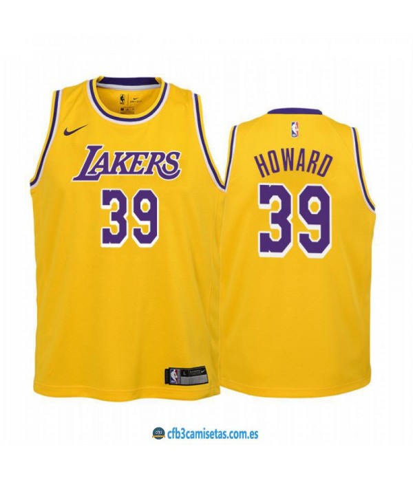 CFB3-Camisetas Dwight Howard Los Angeles Lakers Ic...