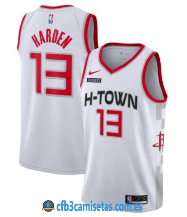 CFB3-Camisetas James Harden Houston Rockets 2019 2020 City Edition