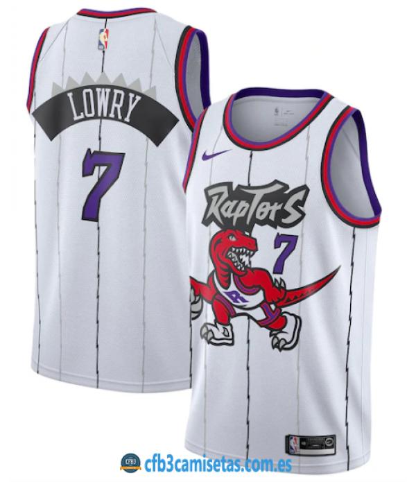 CFB3-Camisetas Kyle Lowry Toronto Raptors Classic