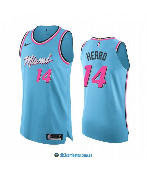 CFB3-Camisetas Tyler Herro Miami Heat 2019 2020 City Edition