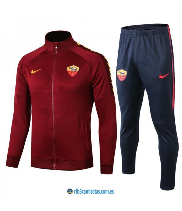 CFB3-Camisetas Chándal AS Roma 2019 2020 JUNIOR