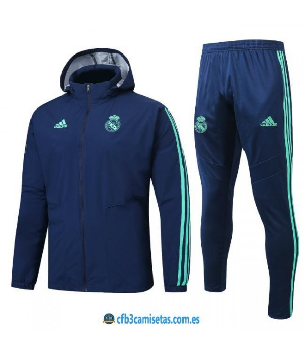 CFB3-Camisetas Chándal con capucha Real Madrid 20...