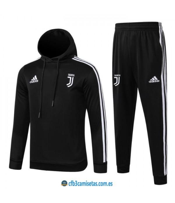 CFB3-Camisetas Chándal Juventus 2019 2020 Capucha JUNIOR