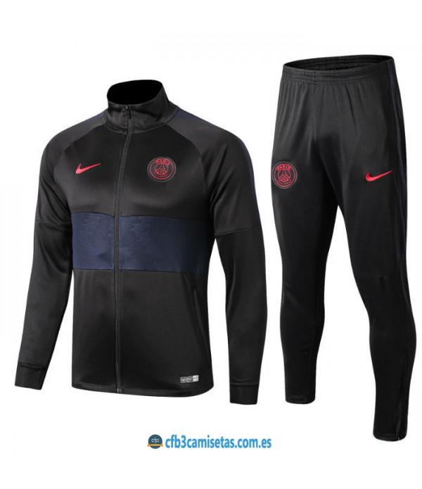 CFB3-Camisetas Chándal PSG 2019 2020 JUNIOR