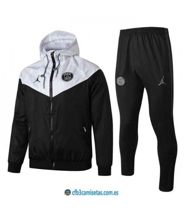 CFB3-Camisetas Chándal PSG x Jordan 2019 2020