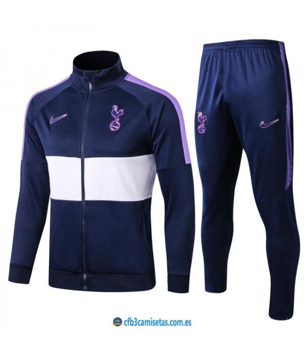 CFB3-Camisetas Chándal Tottenham Hotspur 2019 202...