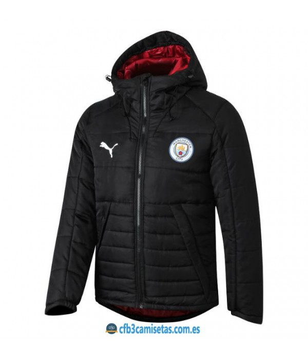 CFB3-Camisetas Chaqueta acolchada Manchester City 2019 2020