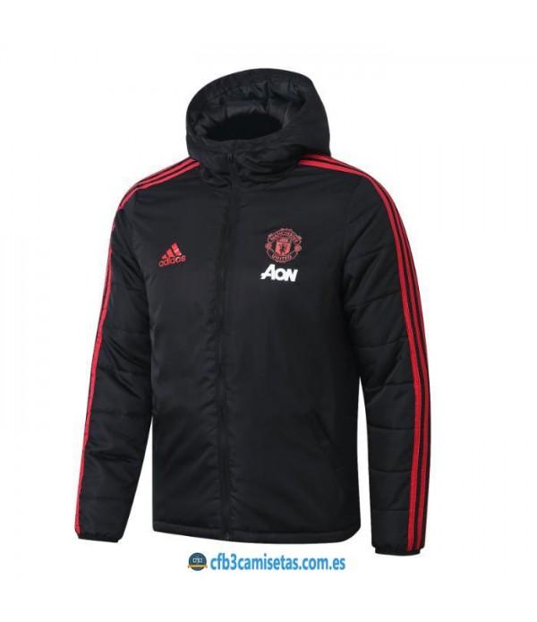 CFB3-Camisetas Chaqueta acolchada Manchester United 2019 2020