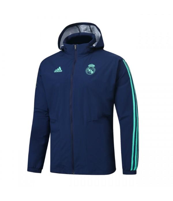 CFB3-Camisetas Chaqueta con capucha Real Madrid 2019 2020 2