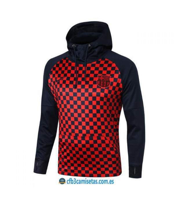 CFB3-Camisetas Chaqueta FC Barcelona 2019 2020 Cuadros