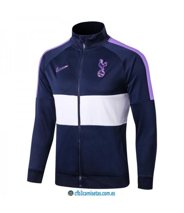 CFB3-Camisetas Chaqueta Tottenham Hotspur 2019 2020 Blanca