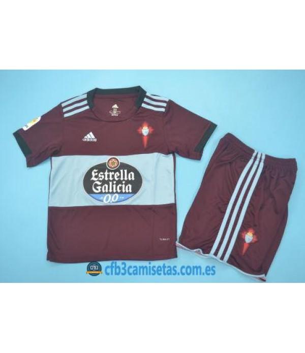 CFB3-Camisetas Celta de Vigo 2a Equipación 2019 2020 Kit Junior