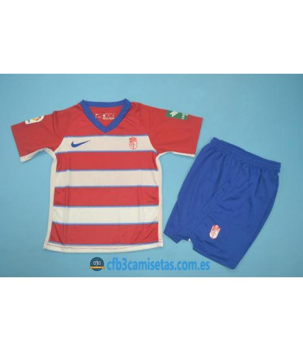 CFB3-Camisetas Granada 1a Equipación 2019 2020 Kit Junior