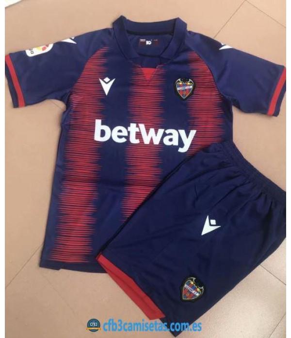 CFB3-Camisetas Levante 1a Equipación 2019 2020 Kit Junior