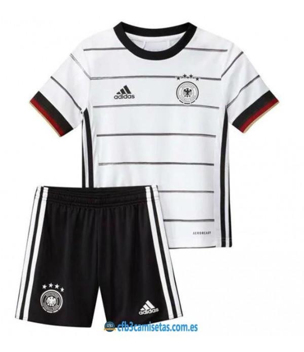 CFB3-Camisetas Alemania 1a Equipación 2020 Kit Junior