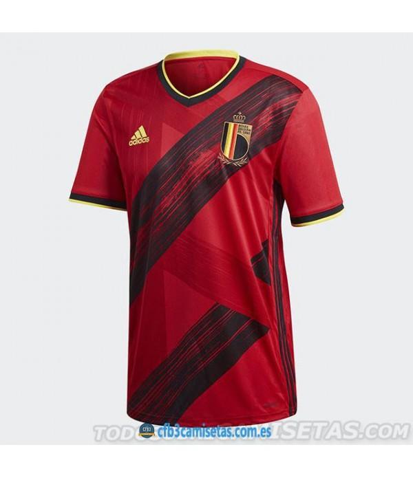 CFB3-Camisetas Bélgica 1a Equipación 2020