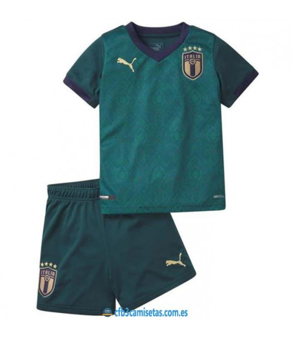 CFB3-Camisetas Italia Renaissance 2019 2020 Kit Junior