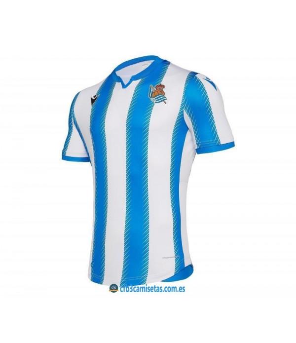 CFB3-Camisetas 1ª equipacion Real Sociedad 2019 2020