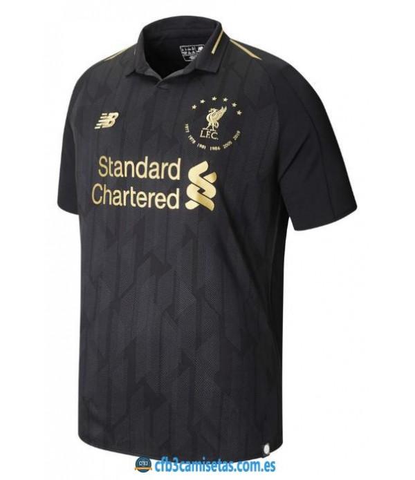 CFB3-Camisetas Liverpool Six Times Edition 2019 2020