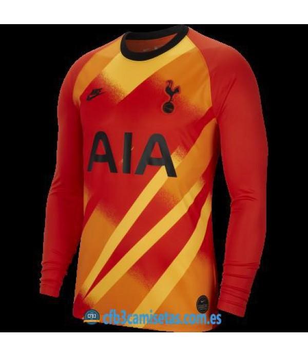 CFB3-Camisetas Tottenham Spurs 1a Equipación Portero 2019 2020 ML