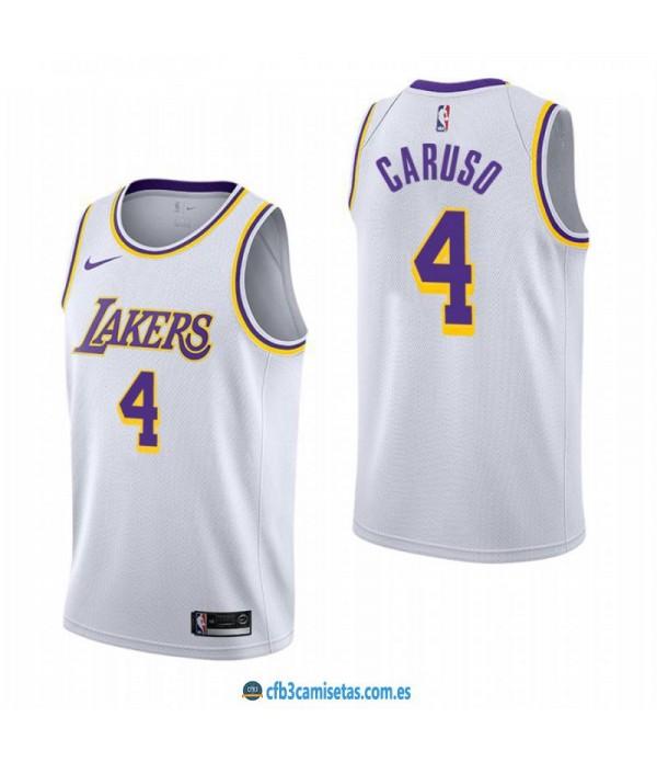 CFB3-Camisetas Alex Caruso Los Angeles Lakers 2018...