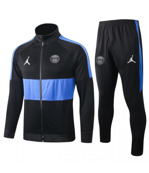 CFB3-Camisetas Chándal PSG x Jordan 2019 2020 Raya