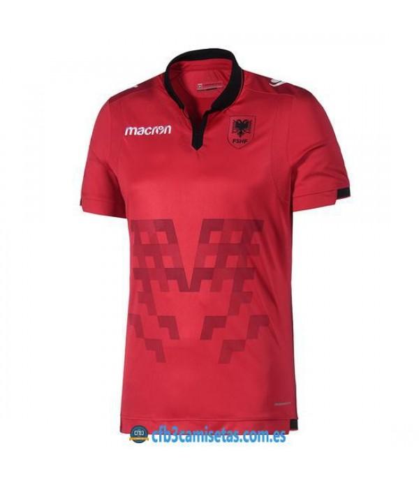 CFB3-Camisetas Albania 1a Equipación 2019 2020
