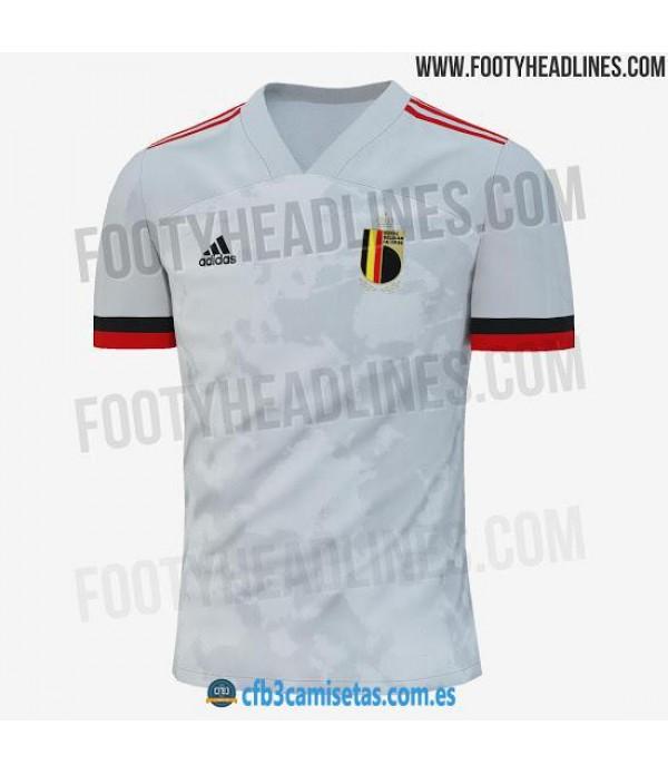 CFB3-Camisetas Bélgica 2a Equipación 2020