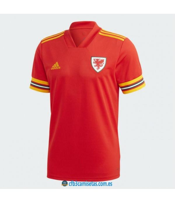 CFB3-Camisetas Gales 1a Equipación 2020