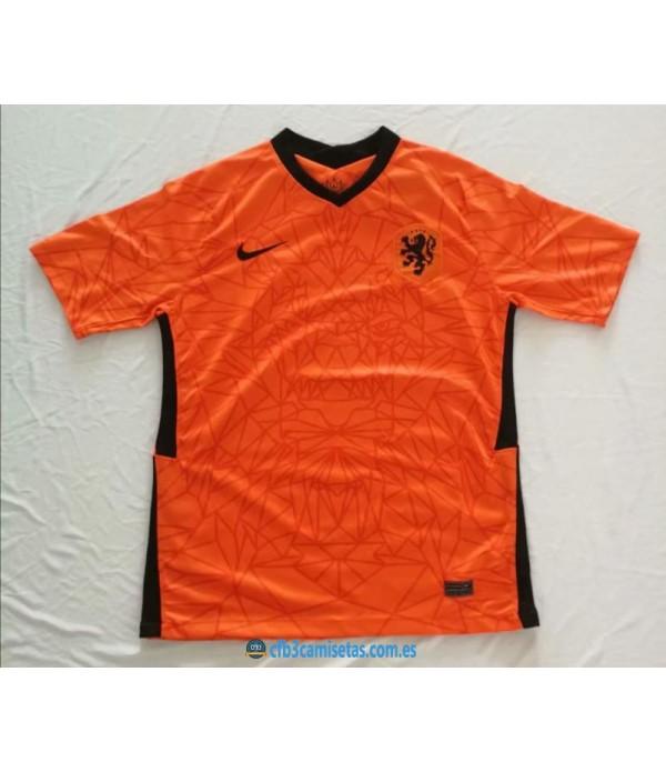 CFB3-Camisetas Holanda 1a Equipación 2020