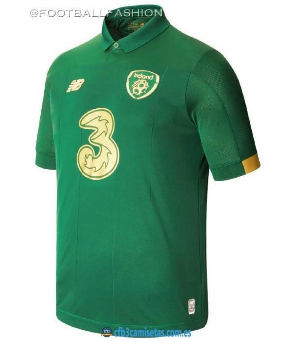 CFB3-Camisetas Irlanda 1a Equipación 2020