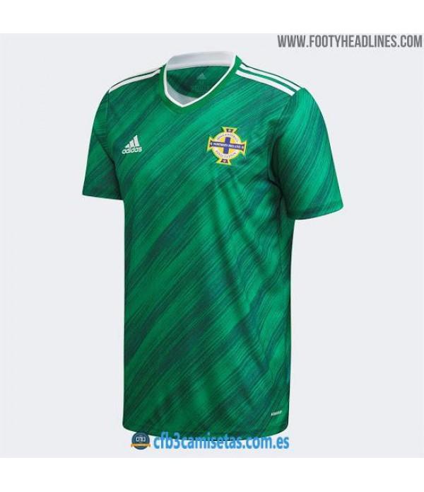 CFB3-Camisetas Irlanda del Norte 1a Equipación 2020