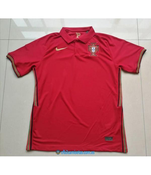 CFB3-Camisetas Portugal 1a Equipación 2020