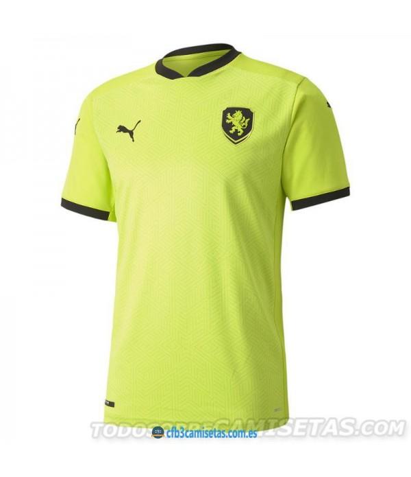 CFB3-Camisetas República Checa 2a Equipación 2020