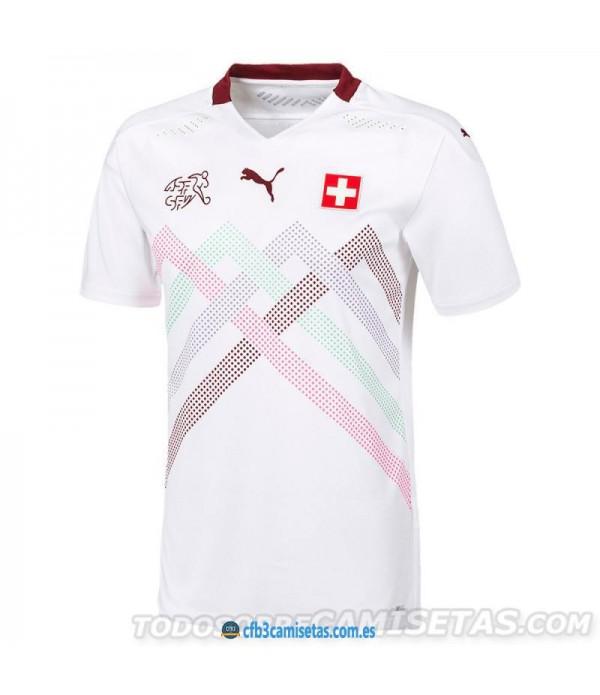 CFB3-Camisetas Suiza 2a Equipación 2020