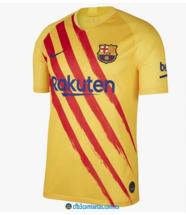 CFB3-Camisetas FC Barcelona 4a Equipación 2019 2020