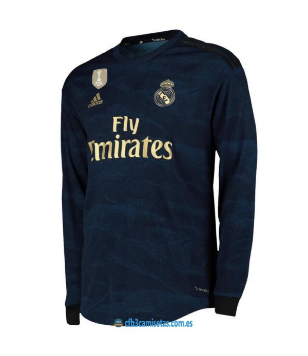 CFB3-Camisetas Real Madrid 2a Equipación 2019 2020 ML