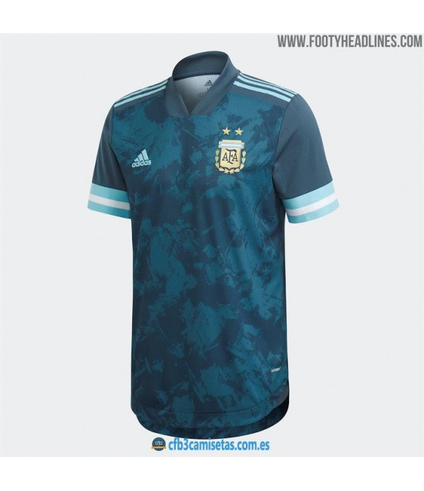 CFB3-Camisetas Argentina 2a Equipación 2020/21