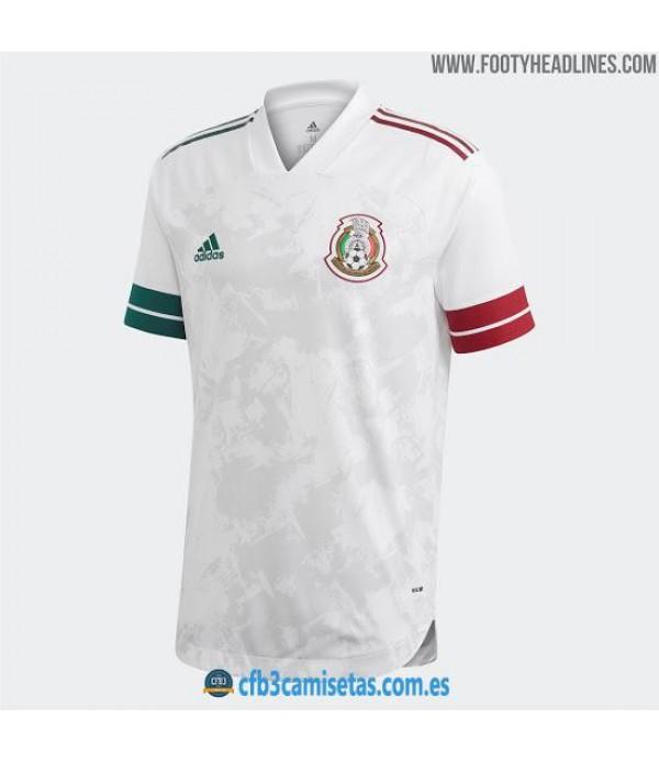 CFB3-Camisetas Mexico 2a Equipacion 2020/21
