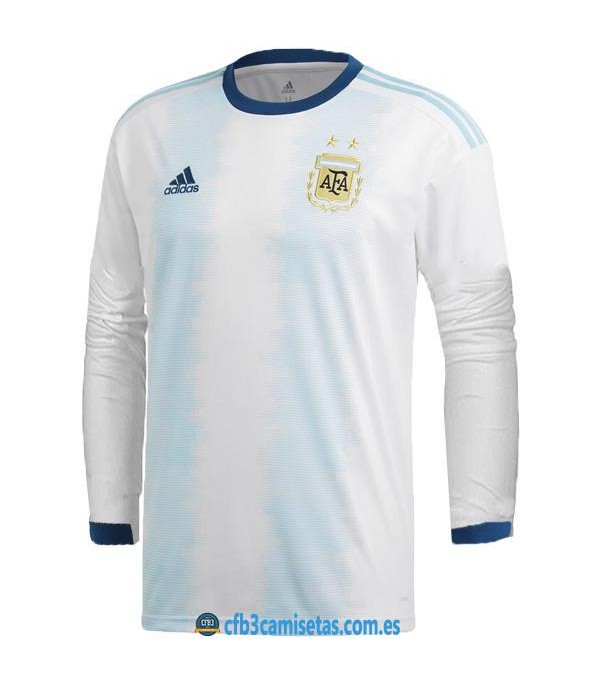 CFB3-Camisetas Argentina 1a Equipación 2019/20 ML