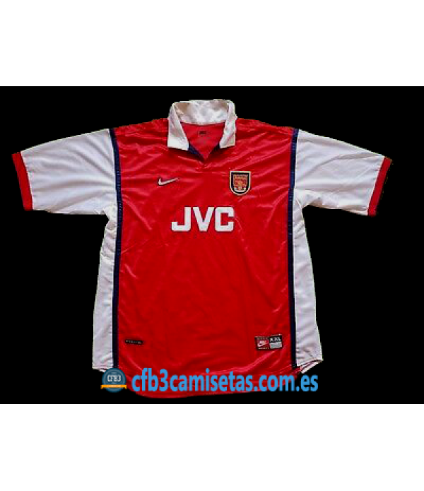 CFB3-Camisetas Arsenal 1a Equipación 1998-99