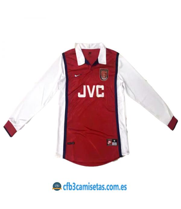CFB3-Camisetas Arsenal 1a Equipación 1998-99 ML