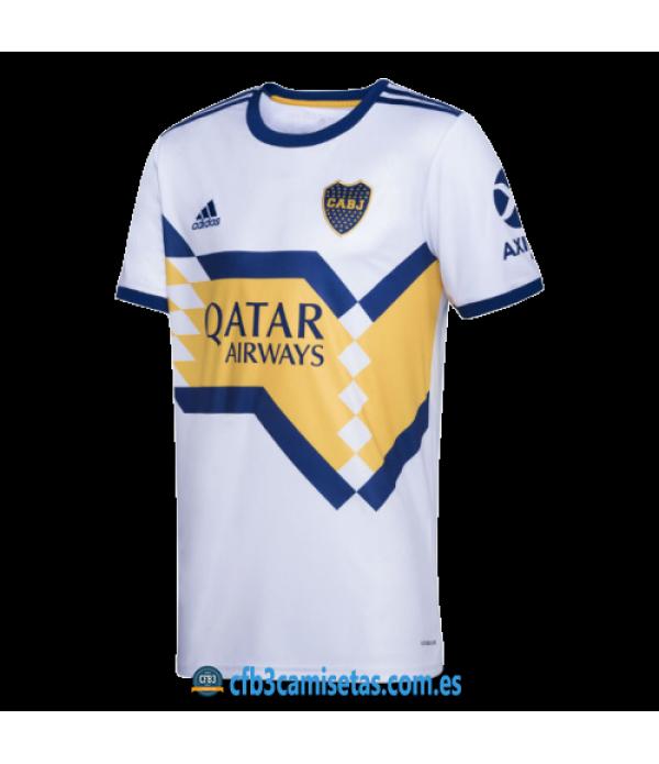 CFB3-Camisetas Boca Juniors 2a Equipación 2020/21