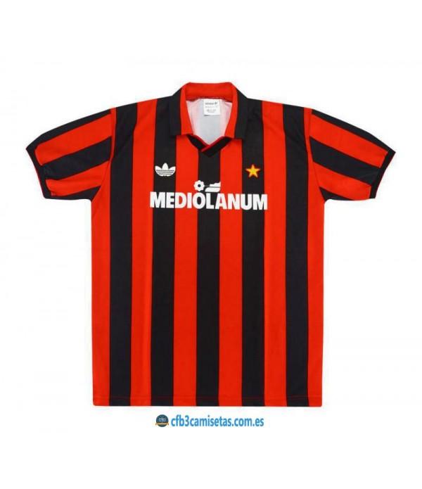 CFB3-Camisetas Camiseta AC Milan 1990/91