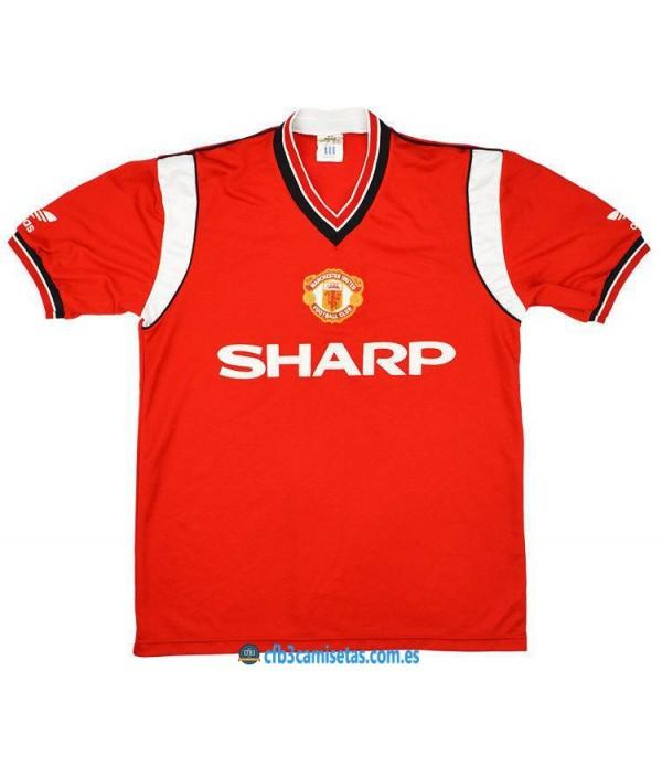 CFB3-Camisetas Camiseta Manchester United 1984-86