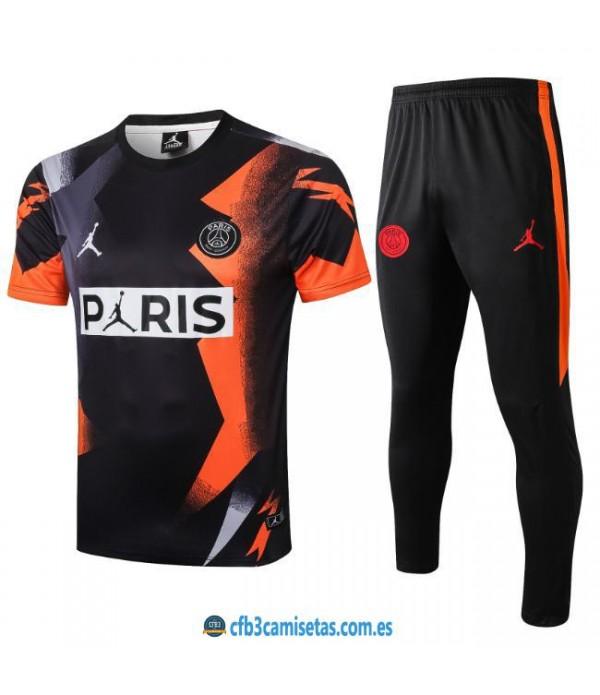 CFB3-Camisetas Camiseta Pantalones PSG x Jordan 2019/20