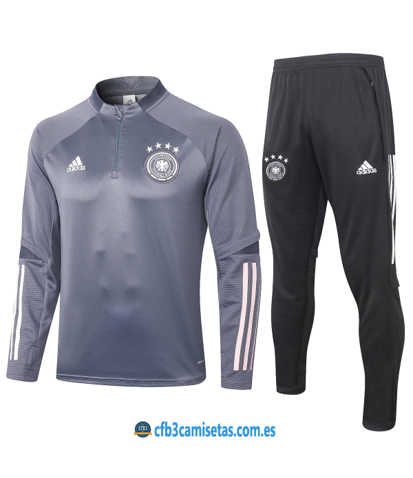 CFB3-Camisetas Chándal Alemania 2020/21 - Multicolor