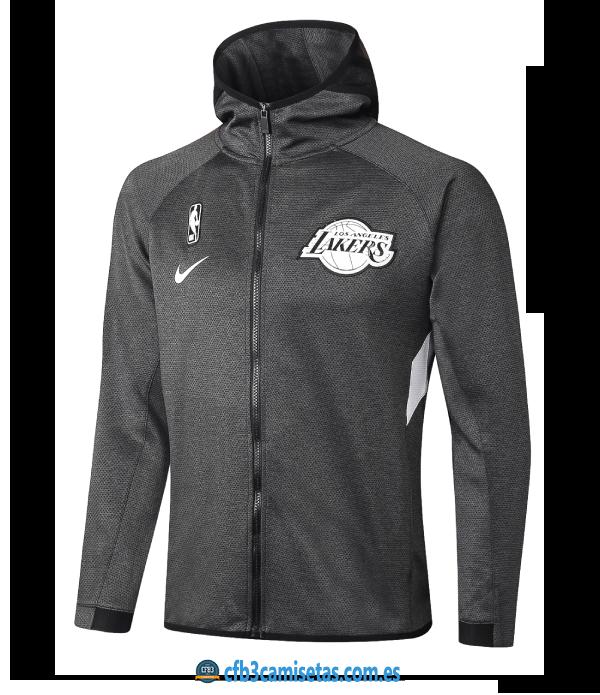 CFB3-Camisetas Chaqueta con capucha Los Angeles Lakers - Black