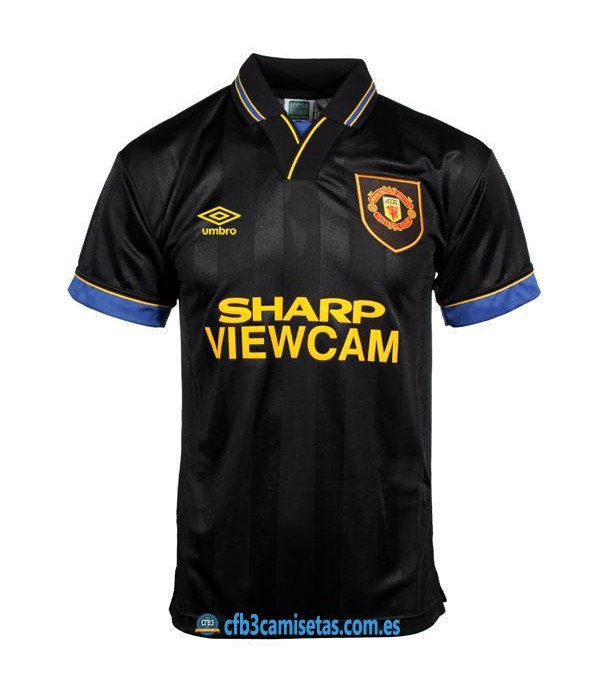 CFB3-Camisetas Manchester United 2a Equipación 1993-95